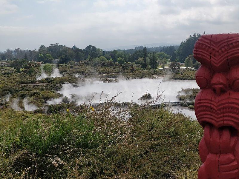 Student Tjeerd Brandsma in Nieuw-Zeeland