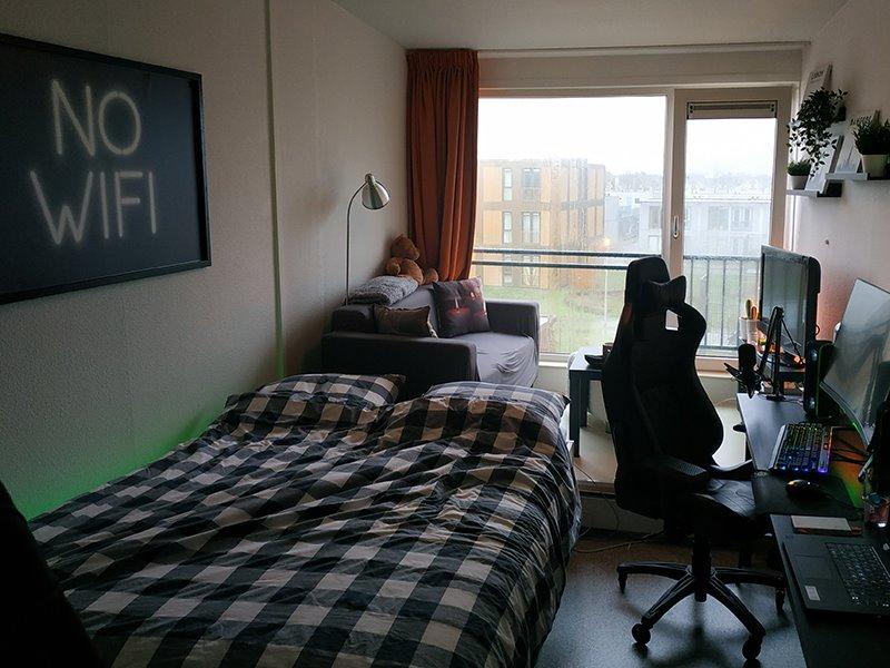 Studentenkamer van Thomas Wijnands